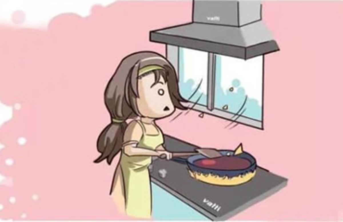 cách khử mùi bếp ăn