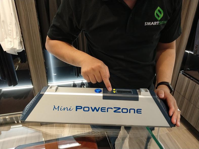 máy khử mùi Minipower zone
