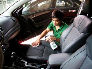 Cách khử mùi xe ô tô mới mua