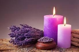 Đốt nến hương tự nhiên giúp tại mùi thơm cho Spa