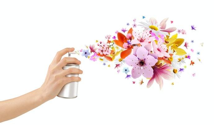 Tạo nước xịt phòng để tạo mùi thơm cho Spa
