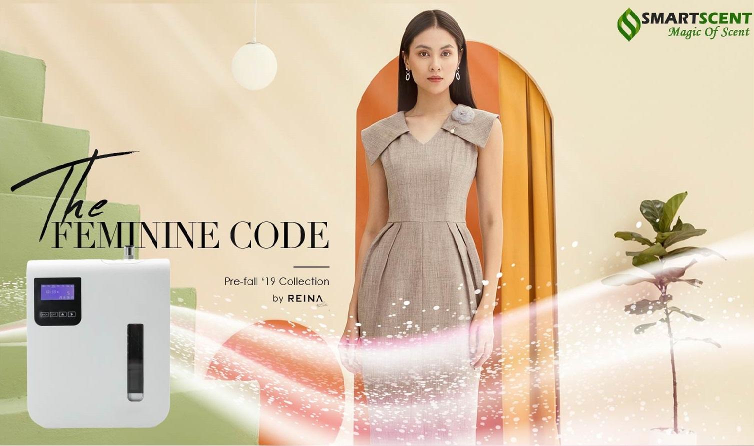 Phương pháp tạo hương thơm cho cửa hàng thời trang Reina