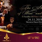 Khử mùi xì gà sự kiện The Heaven of Wine and Cigar tại khách sạn Sheraton Hà Nội
