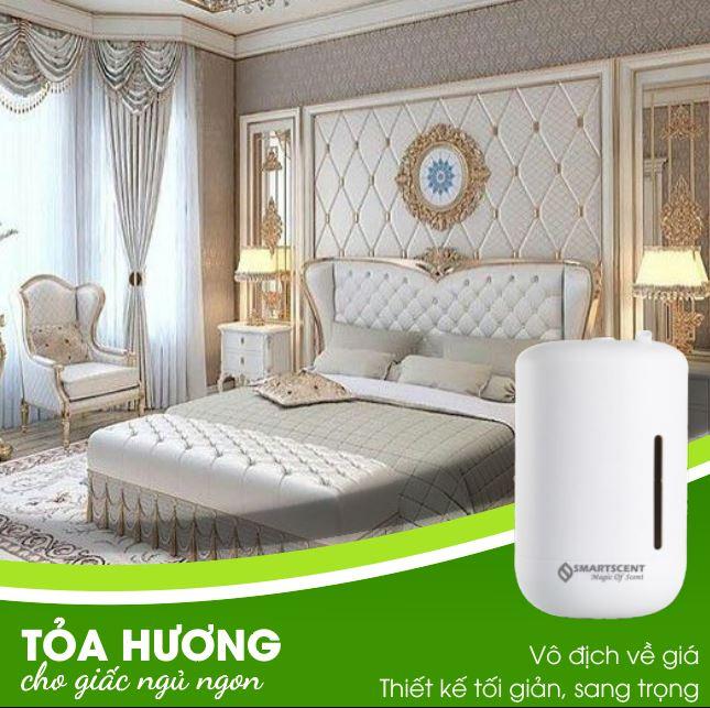 máy tỏa hương cho phòng ngủ