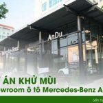 Khử mùi showroom ô tô ở Hà Nội- Dự án khử mùi showroom Mercedes – Benz Andu Hà Nội
