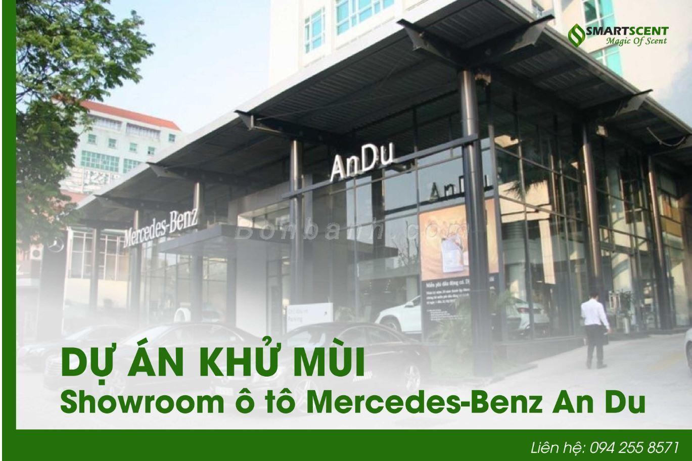 khử mùi showroom ô tô ở Hà Nội