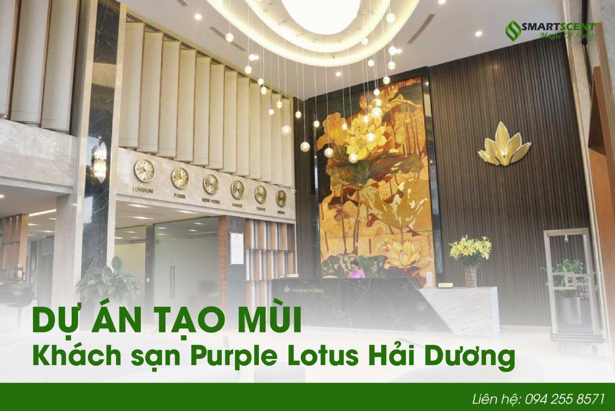 Nâng thương hiệu quốc tế với dịch vụ tạo mùi khách sạn ở Hải Dương