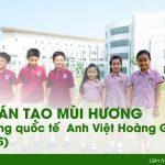 Hương thơm cho trường quốc tế đa cấp Anh Việt Hoàng Gia