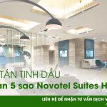 Dự án khuếch tán tinh dầu khách sạn 5 sao Novotel Suites Hanoi
