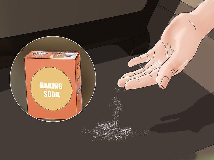khử mùi ô tô hiệu quả baking soda