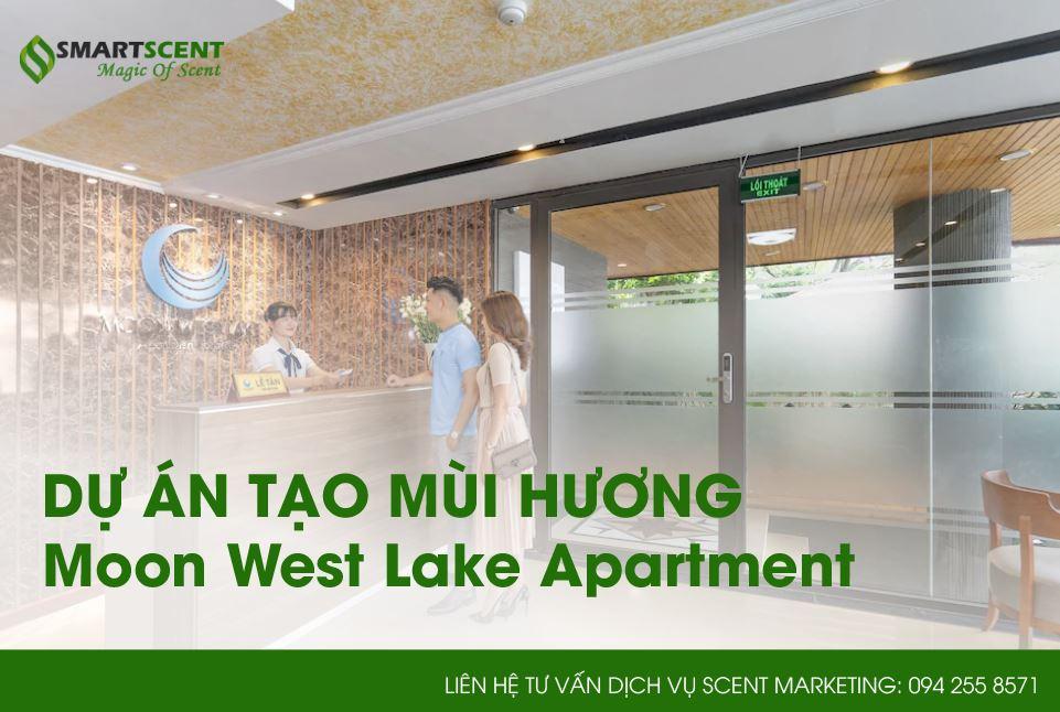 dự án cho thuê máy tạo mùi hương cho khách sạn ở Hà Nội
