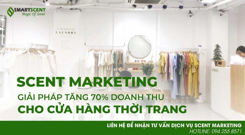 scent marketing cho cửa hàng thời trang