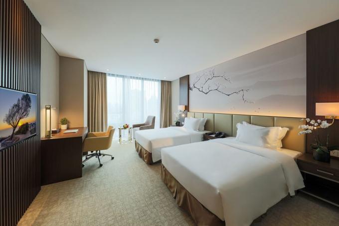 tạo mùi hương cho khách sạn Nhật Hàn với hệ thống phòng nghỉ đạt tiêu chuẩn 5 sao quốc tế