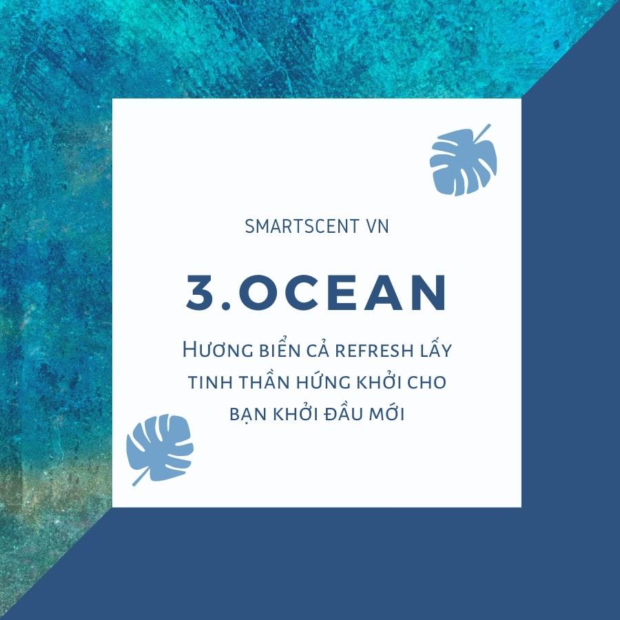 mùi hương tinh dầu cho mùa hè với hương vị biển cả độc đáo