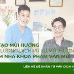 Dự án tạo mùi hương cho phòng khám nha khoa Phạm Văn Mùi