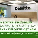 Lọc khí khử khuẩn nhà ăn – cách chăm sóc nhân viên đặc biệt của Deloitte