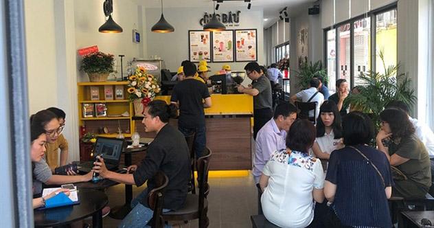 Khử mùi hôi nhà vệ sinh cho quán cafe Ông Bầu
