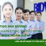 Tạo mùi hương cho ngân hàng BIDV chi nhánh Hoàn Kiếm – Dự án Scent Marketing