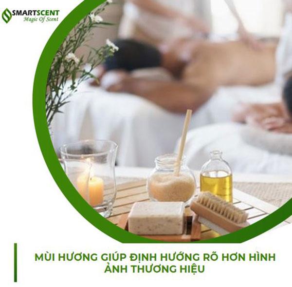 Lợi ích của việc tạo mùi hương trong spa