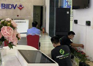 Tạo mùi hương cho ngân hàng BIDV