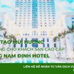 Tạo mùi hương cho khách sạn cao cấp – Dự án khách sạn Nam Cường Nam Định