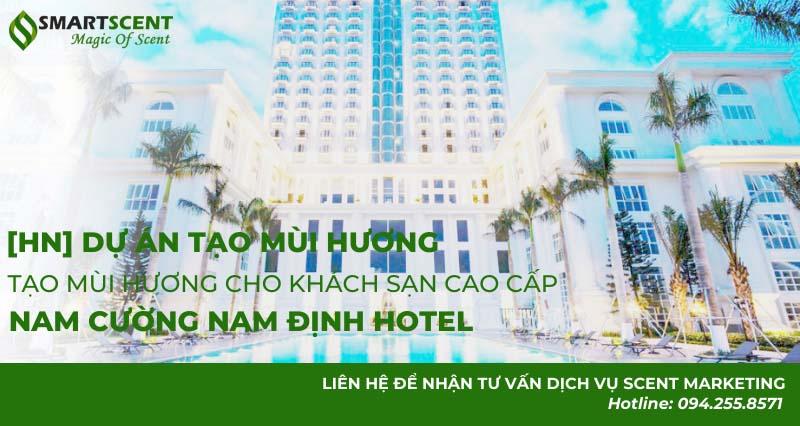 tạo mùi hương cho khách sạn cao cấp