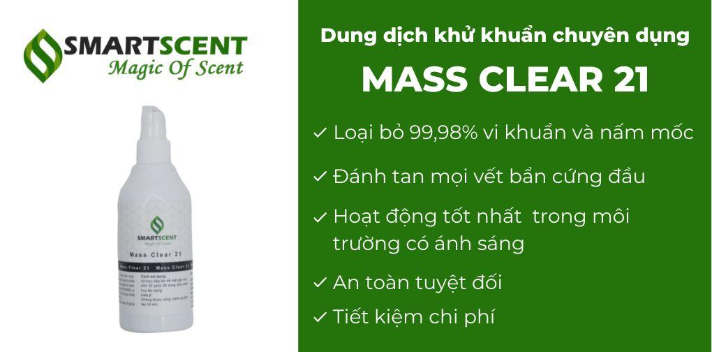 Dung dịch khử mùi Mass Clear