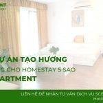 Tạo hương cho homestay Saki Apartment – Dự án khuếch tán mùi hương