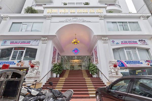 khử mùi cho nhà vệ sinh tại bệnh viện đa khoa Hà Nội