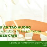 Tạo hương cho quán cafe September Saigon – Thay đổi để đột phá