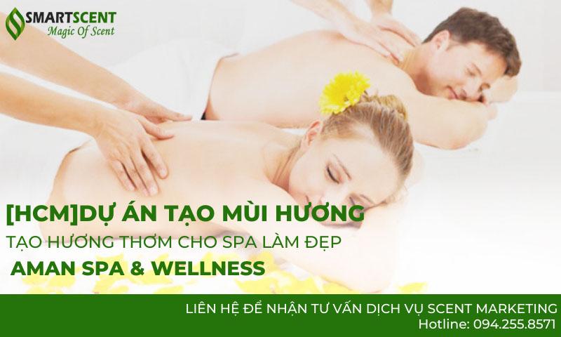 tạo hương thơm cho spa Aman Spa & Wellness