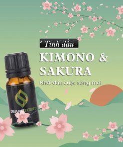 Tinh dầu Kimono Sakura