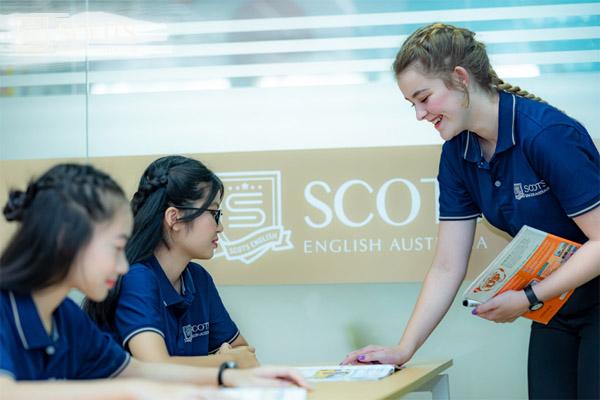 tạo mùi howng cho trung tâm anh ngữ Scots English