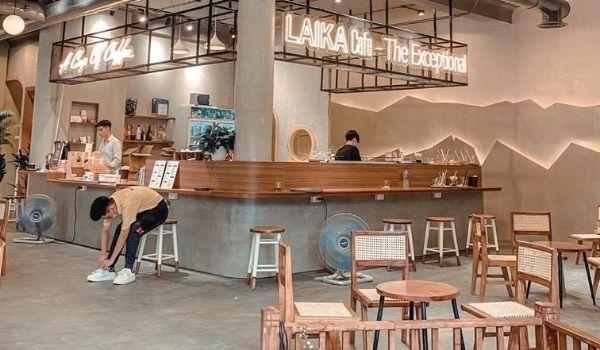 Tạo mùi cafe cho quán Laika Cafe