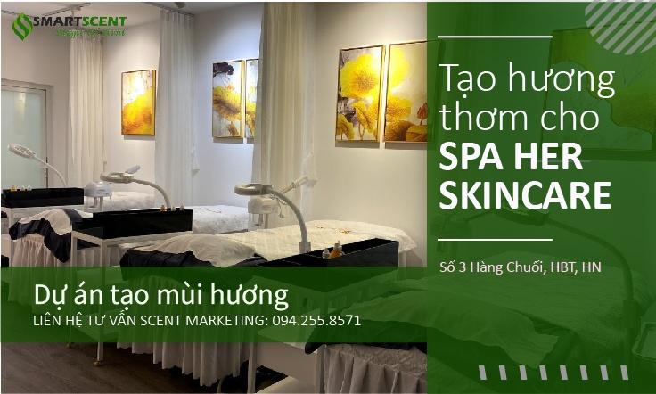 Máy tạo thơm cho spa Hà Nội
