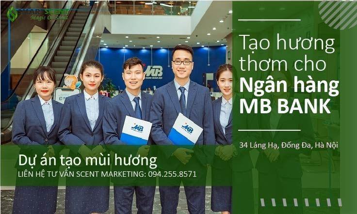 Tạo thơm cho ngân hàng Hà Nội MB Bank